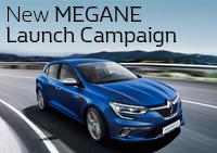 MEGANE Launchキャンペーン